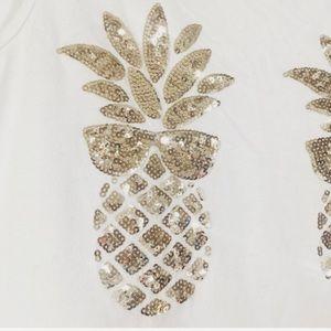 PINK Victoria's Secret Tops - Pink Victoria's Secret Sequin Pineapple Top